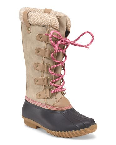 b8cb110f0ea Belinda Lace Up Boot | Rain Boots | Boots, Shoes, Lace up boots