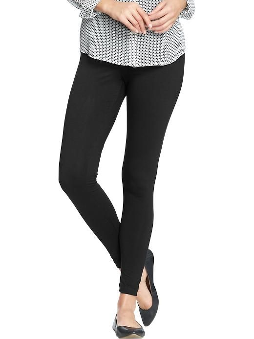 1ec4b884d5939 Old Navy Womens Jersey Leggings - Black jack | clothes | Old navy ...