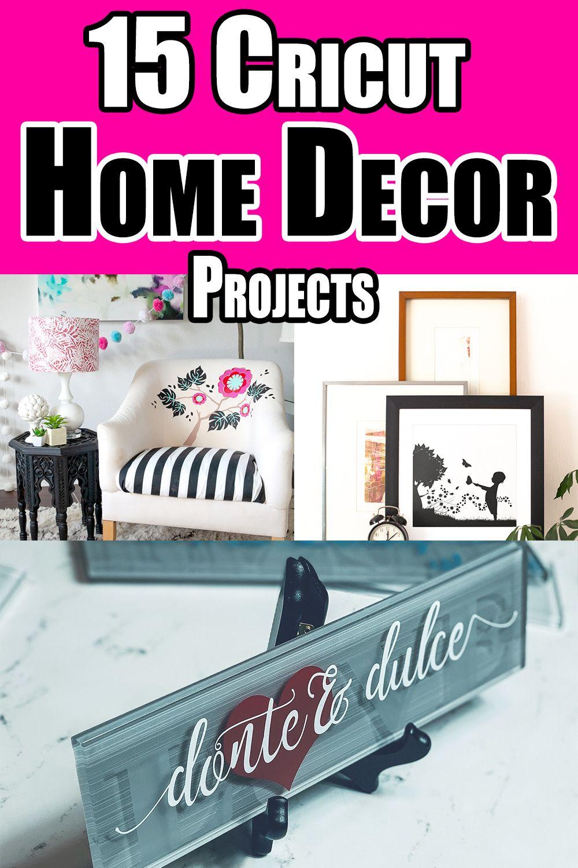 Diy Home Decor Ideas Made With Your Cricut Diy Home Decor Home