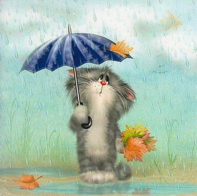 Картинки про дождливое лето прикольные с надписями, прикольные