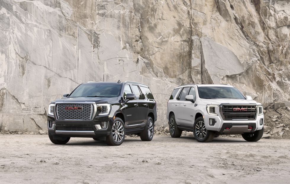 View Photos Of The 2021 Gmc Yukon And Yukon Xl In 2020 Gmc Yukon Suv Yukon Car
