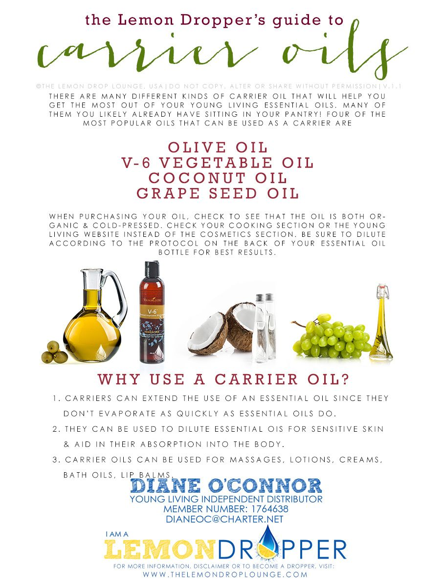 "So far I've been applying them ""neat"" - that means a drop straight from the bottle. . . but I have some coconut oil I'm going to try. Always use a carrier oil with children. Young Living Distributor #1764638 DianeOC@charter.net"
