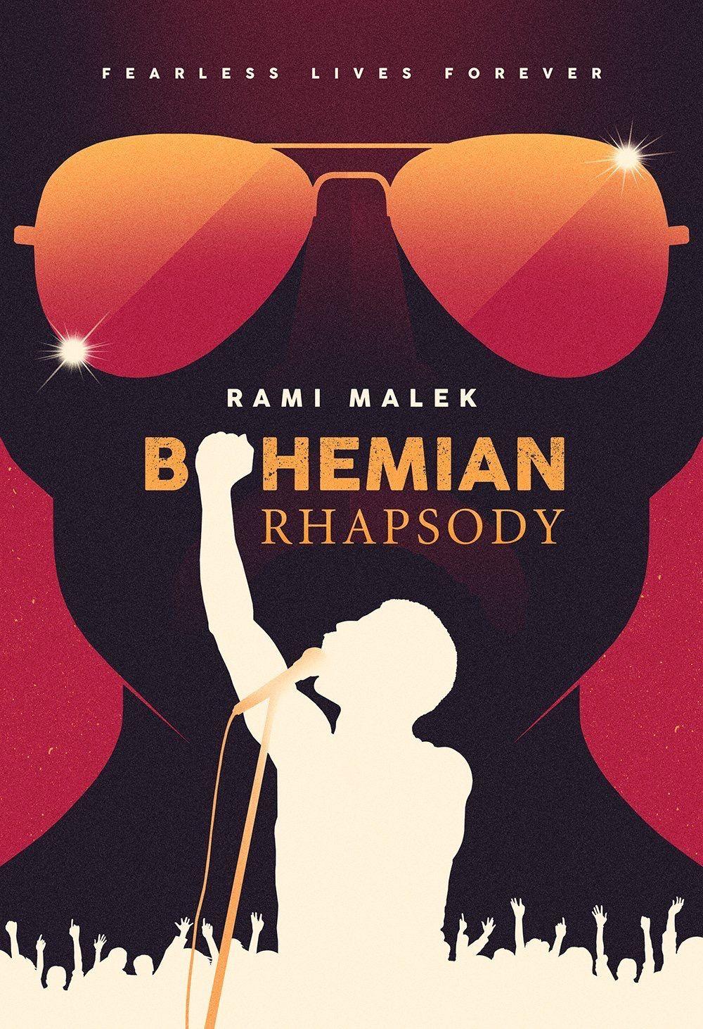 Hasil gambar untuk BOHEMIAN RHAPSODY poster