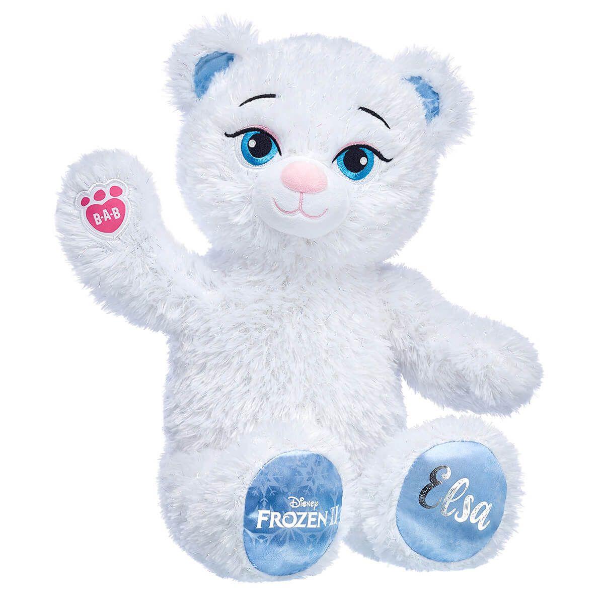 Disney Frozen 2 Elsa Inspired Bear Pet Gifts Cute Stuffed