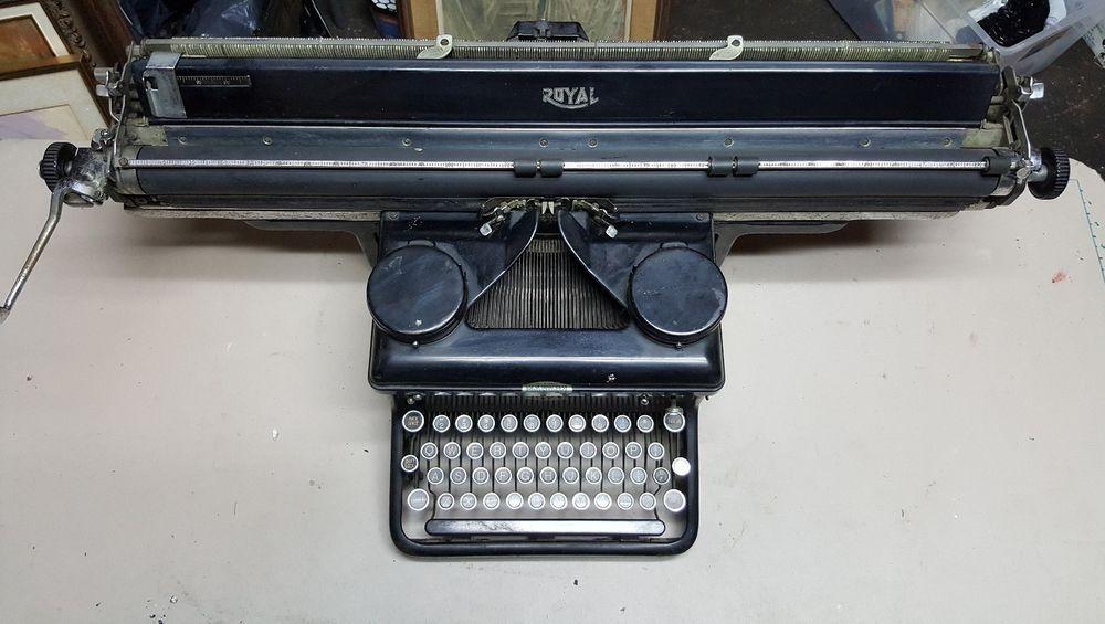 Vintage Royal Typewriter Large Cartridge Carriage Royal Royal Typewriter Typewriter Vintage