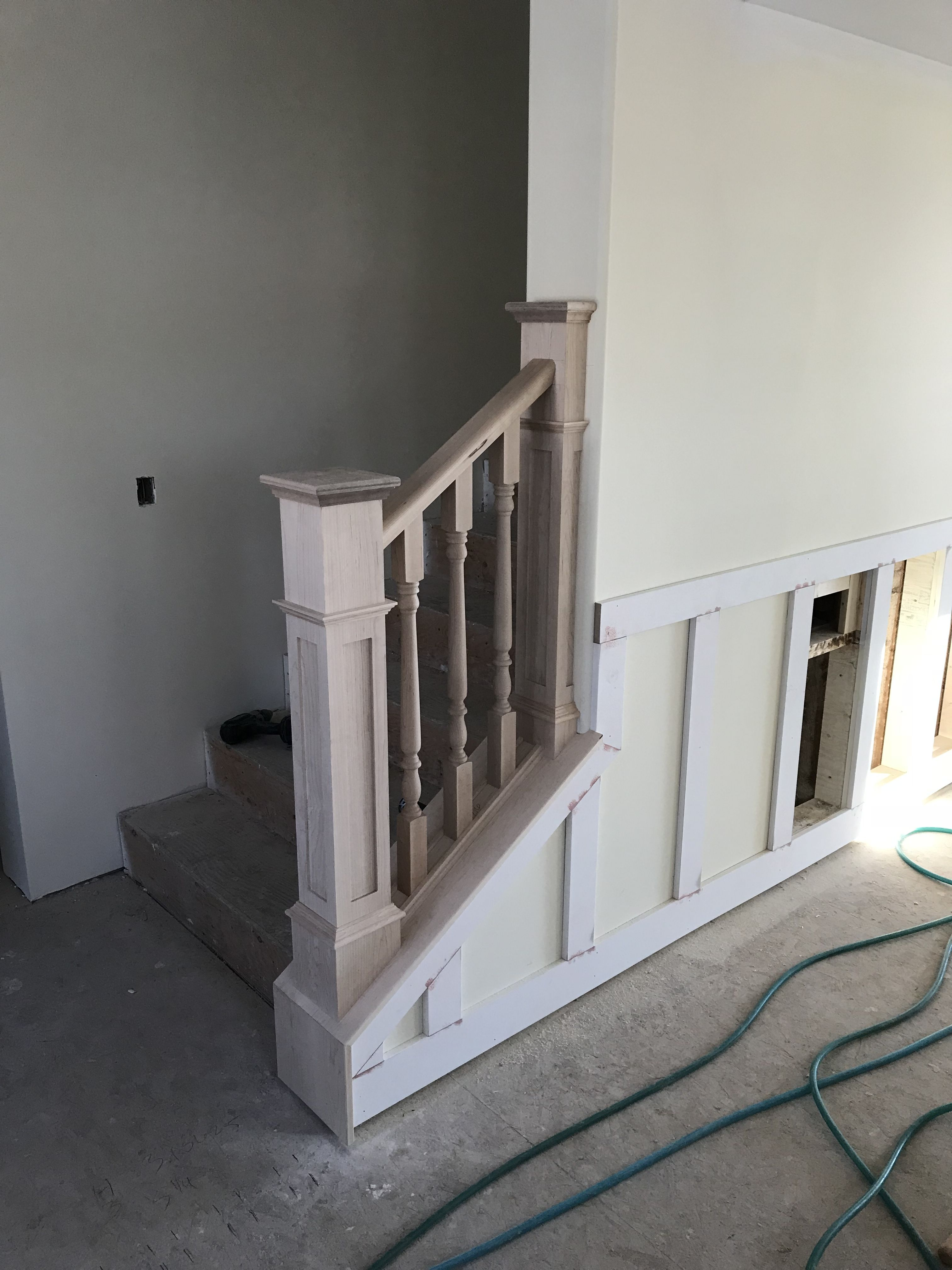 Best Ready For Paint And Stain Two Tone Railings 400 x 300
