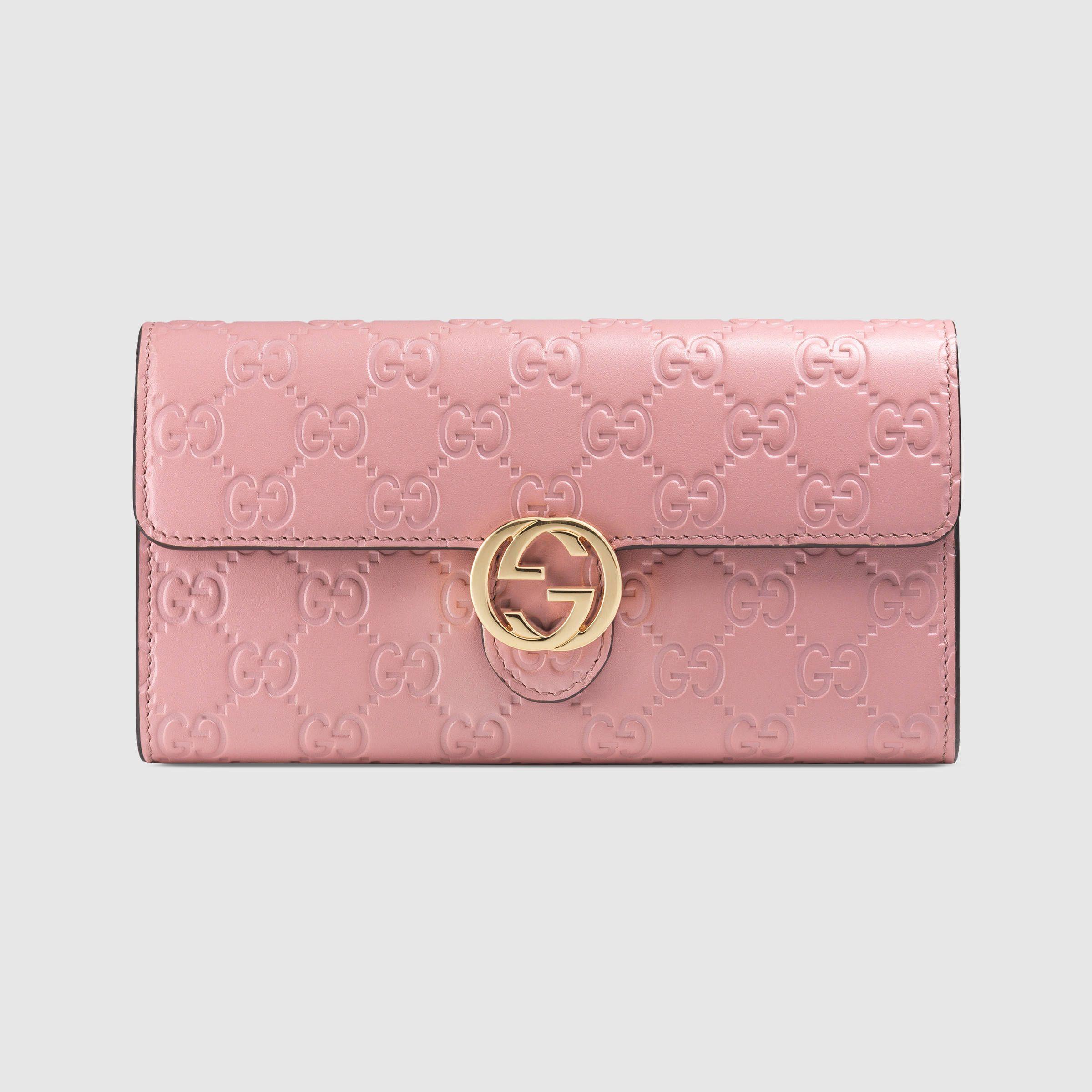 Gucci Icon Gucci Signature wallet