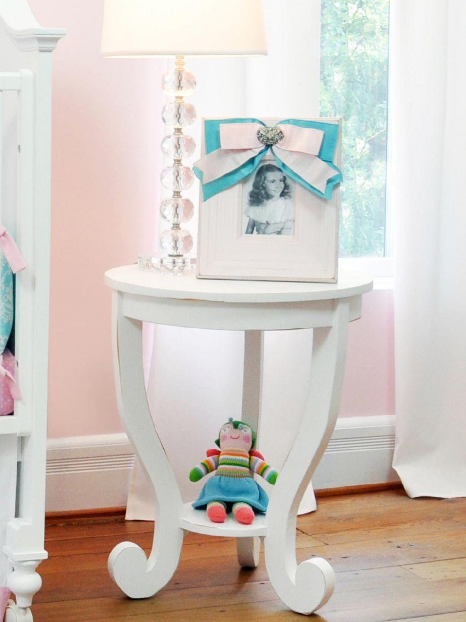 Bunny Inspired Nursery Nursery Side Table Bunny Nursery Girl