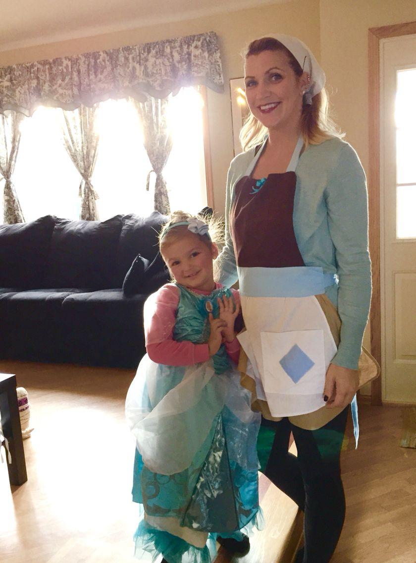 Mother daughter costume. Princess Cinderella and poor Cinderella.  sc 1 st  Pinterest & Mother daughter costume. Princess Cinderella and poor Cinderella ...