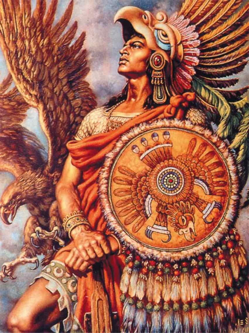 Aztec Warriors Ancient Central American