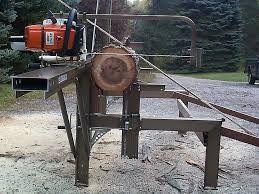 Risultati immagini per diy chainsaw mill plans