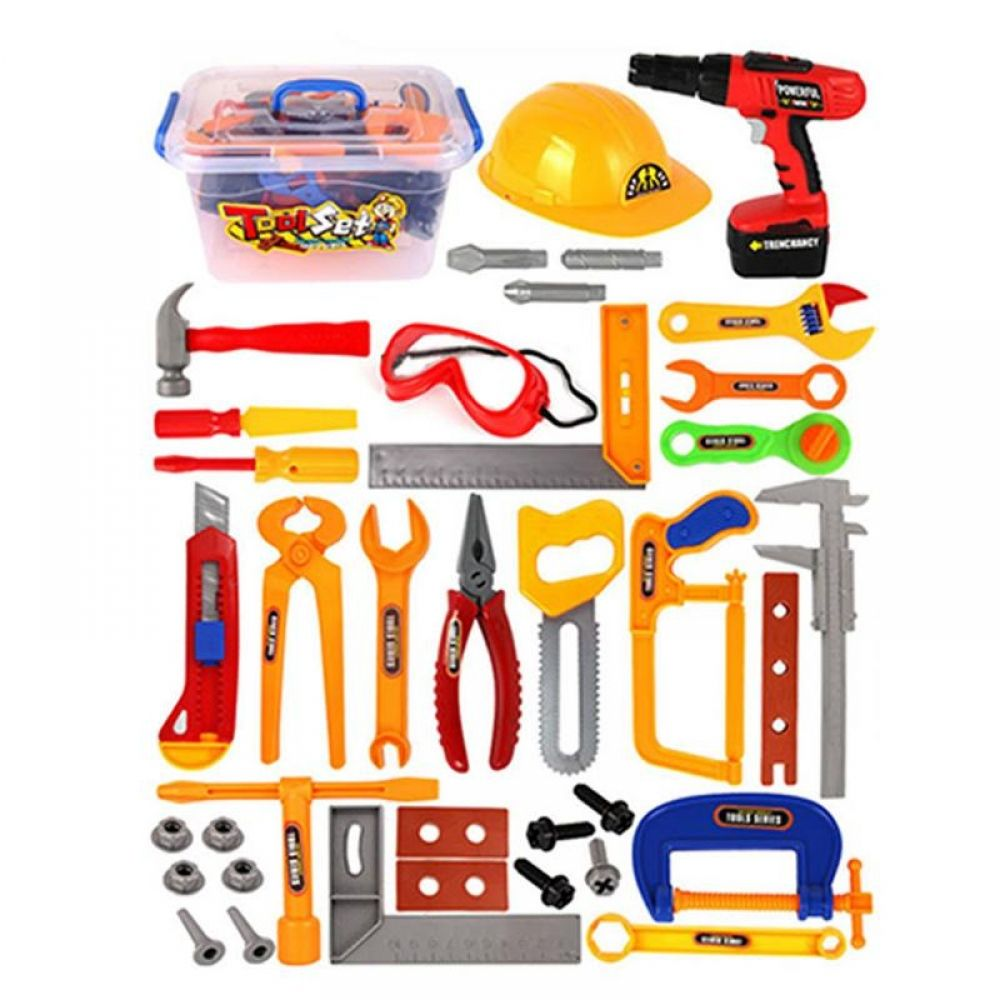 37Pcs/Set baby kids tools toy Repair tool Play House Toys ...