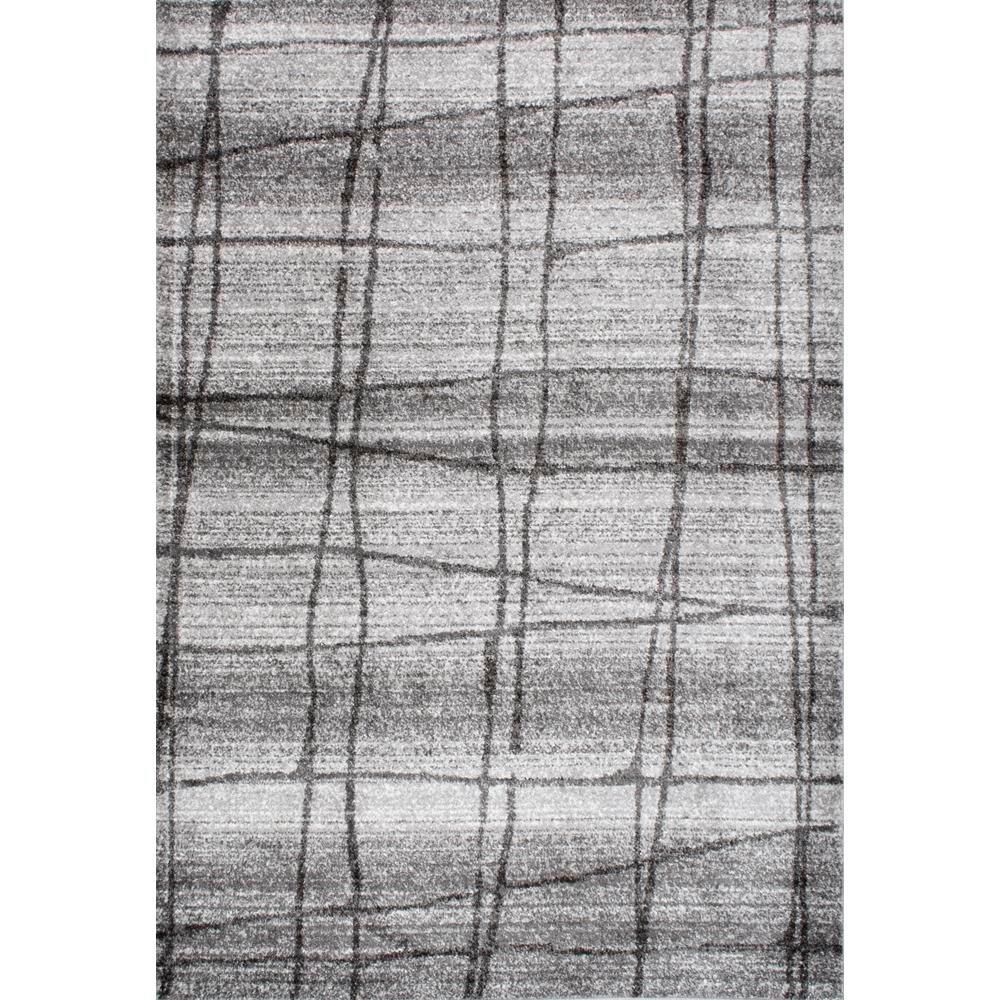 Grey 8 ft. 2 in. x 11 ft. 6 in. Area Rug, Light