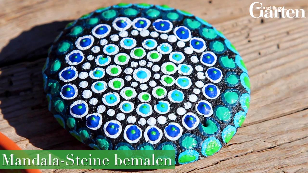 Manadal-Steine bemalen #steinebemalenkinder