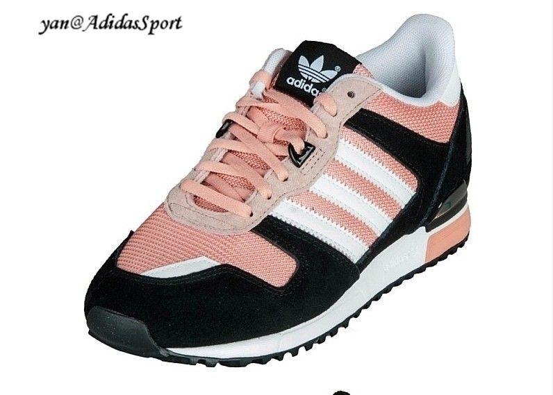 Adidas Originals Zx 700 shoes women salmon clearblackwhite