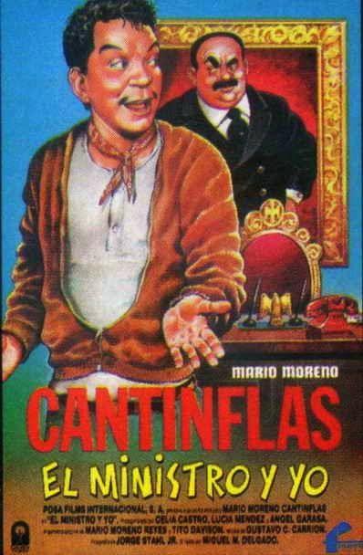 Cantinflas El Ministro Y Yo 1976 Latino Movie Posters Vintage Best Movie Posters Movie Posters