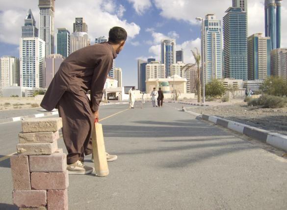 Anyone For Cricket Big Building Dubai City