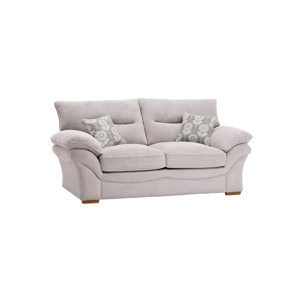 Breeze Silver Fabric Sofas 2 Seater Sofa Bed Chloe Range Oak Furnitureland Oak Furniture Land Sofa Bed 2 Seater Sofa