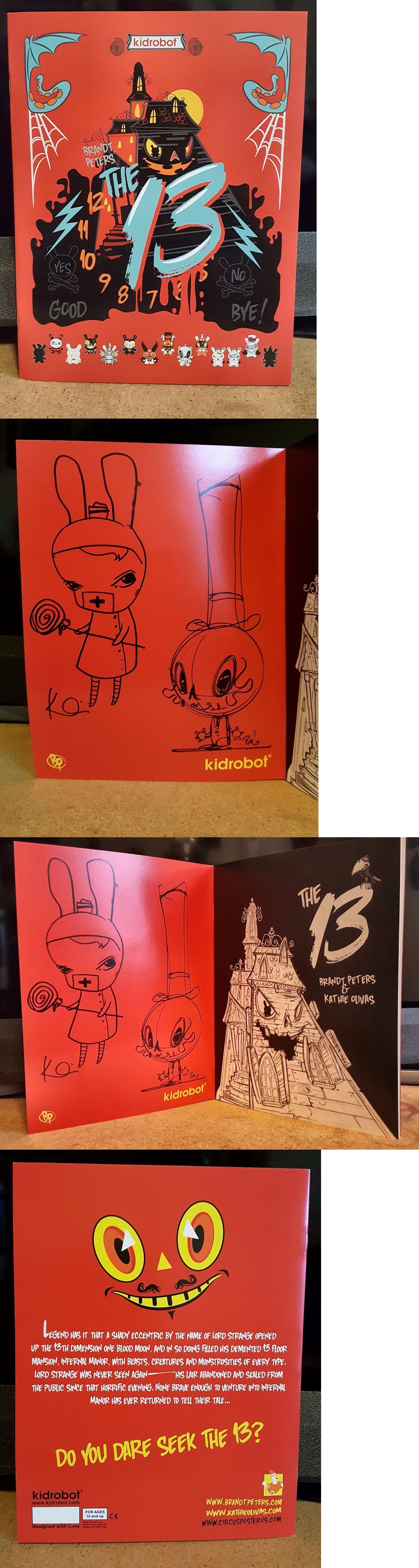 Designer And Urban Vinyl 158672 Brandt Peters Kathie Olivas Coloring Book Sign