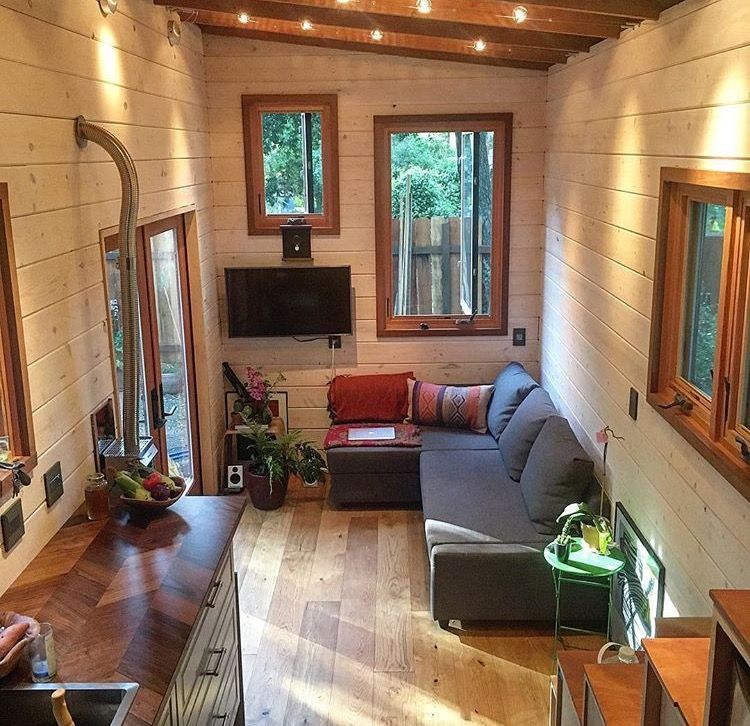 250 Sq Ft Diy Tiny House On Wheels Tiny House Exterior Diy Tiny House Tiny House Cabin