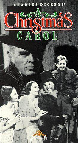 Original Christmas Carol Movie.A Christmas Carol 1938 Directed By Edwin L Marin With