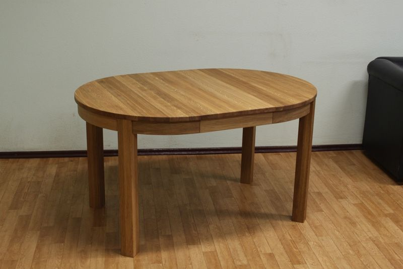 Oak Extending Dining Table, Round Extending Oak Dining Table And Chairs
