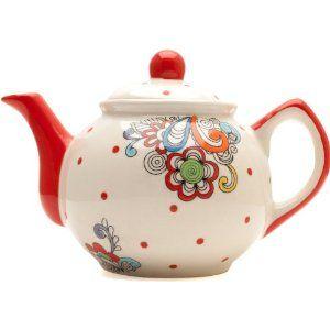 Blume wirbelt Teekanne: Amazon.de: Küche & Haushalt