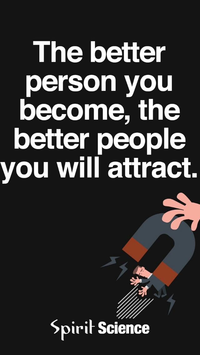 You attract Who You are.