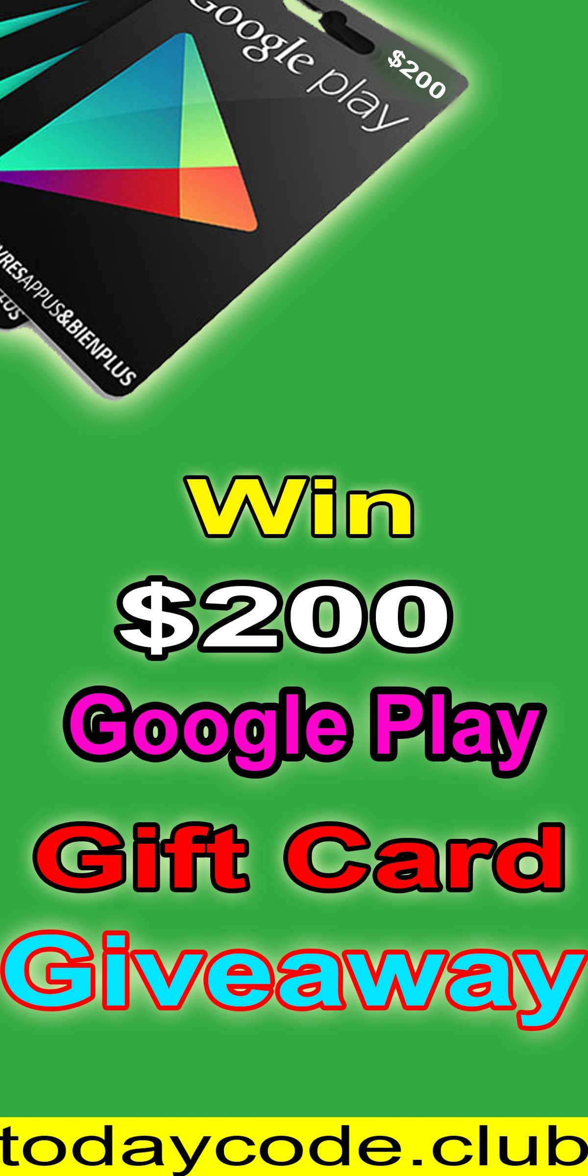 Google Play Gift Card Giveaway Get A Google Play Gift Card