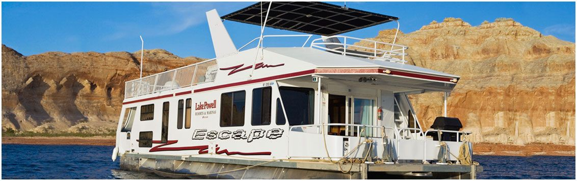 Escape Luxury Houseboat Rental Lake Powell Resorts