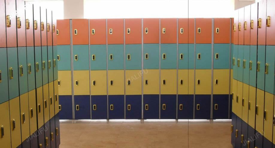 Jialifu commercial laminate gym lockers Gym lockers