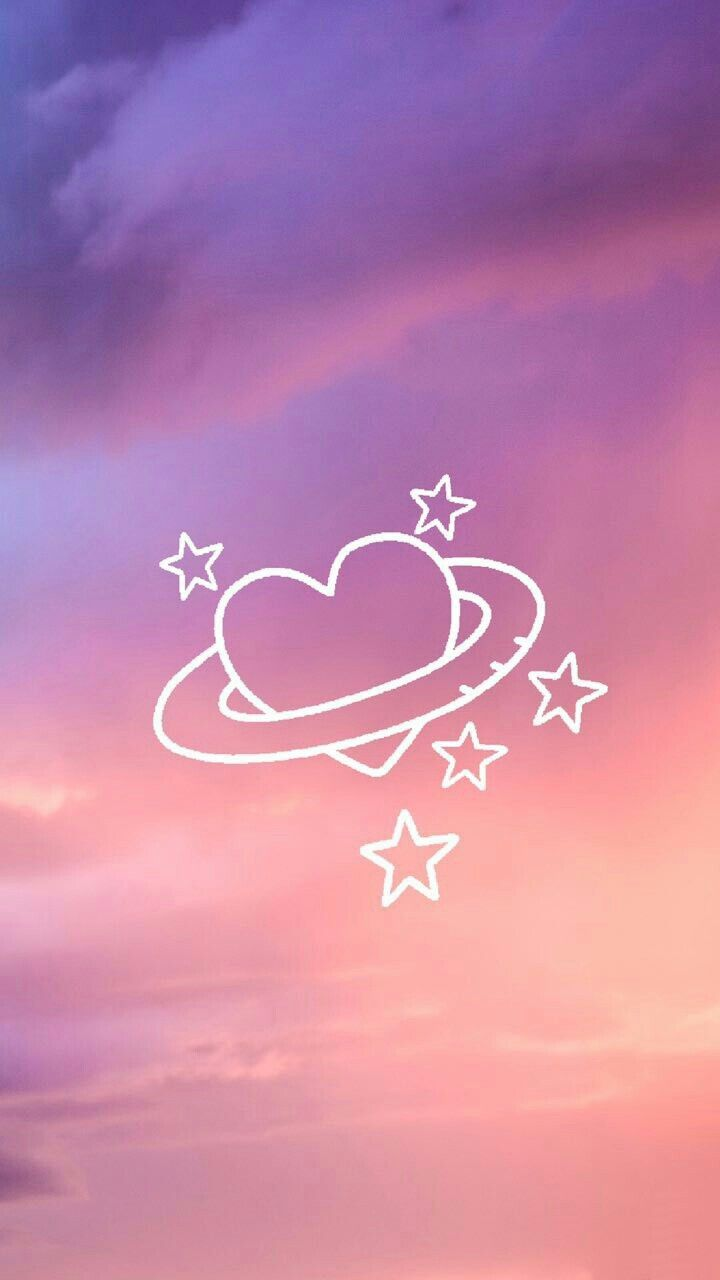Heart Planet Pretty Wallpapers Cute Wallpaper For Phone Cute Wallpapers