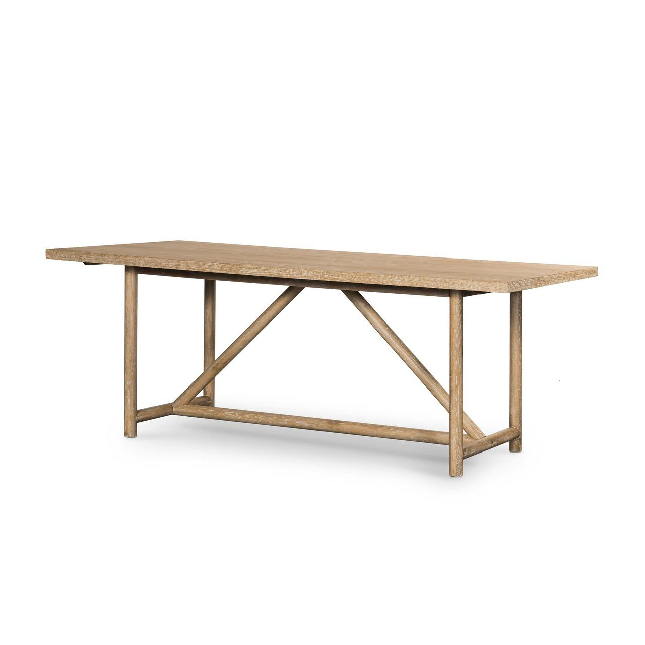 Ramsey Dining Table in 11  Dining table, Dining, White washed oak