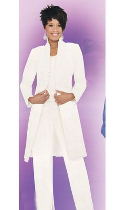 Plus Size White Linen Pants Suit Wedding Ideas Pinterest