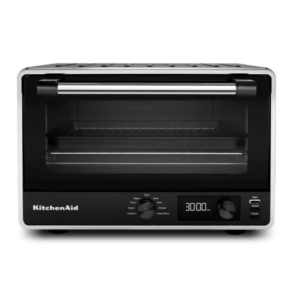 Kitchenaid Matte Black Digital Countertop Oven In 2020