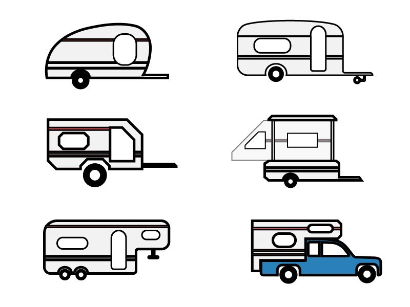 çekme karavan modelleri, 750 kg altı ve üstü çekme karavan
