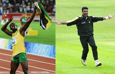 Proud to be on Usain Bolt's fan-list, says Waqar Younis | TheSportsNext.com