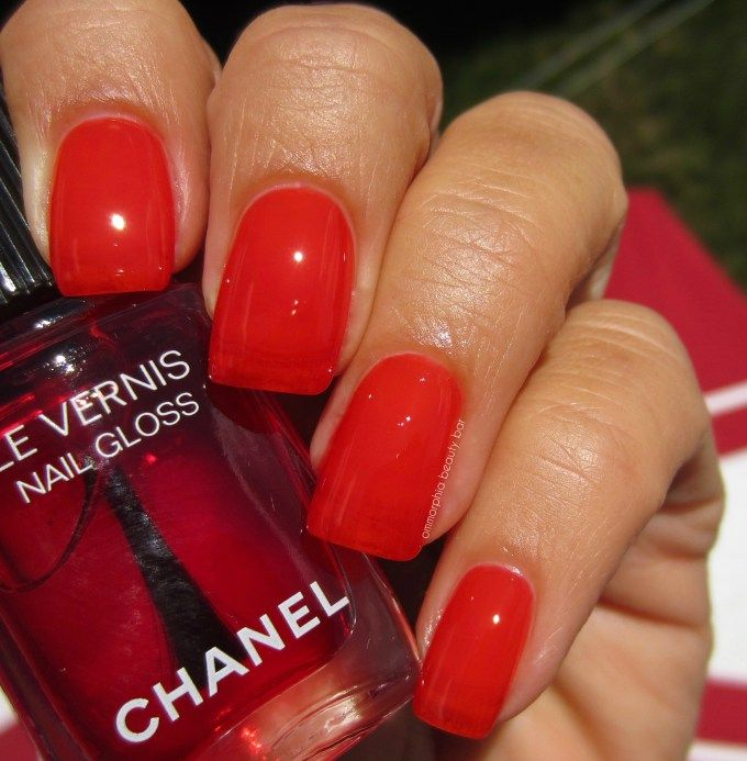 Rouge Radical Nail Gloss Chanel Le Rouge Collection N 1 Fall 2016 Nails Nails 2016 Beauty Bar