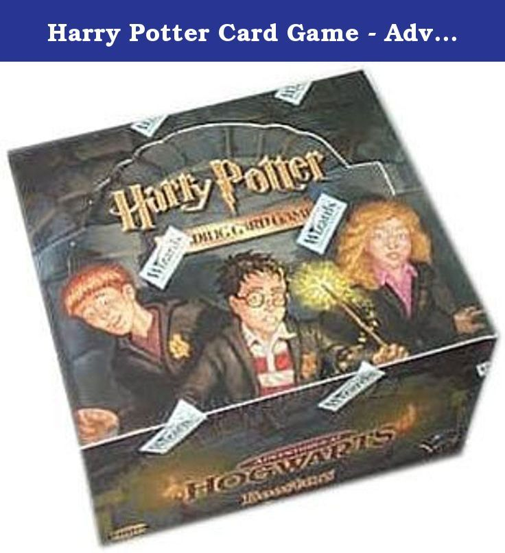 Harry potter card game adventure at hogwarts booster box