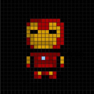 Grille Pour Crocheter Un Pixel Plaid Adapter Les Grannys