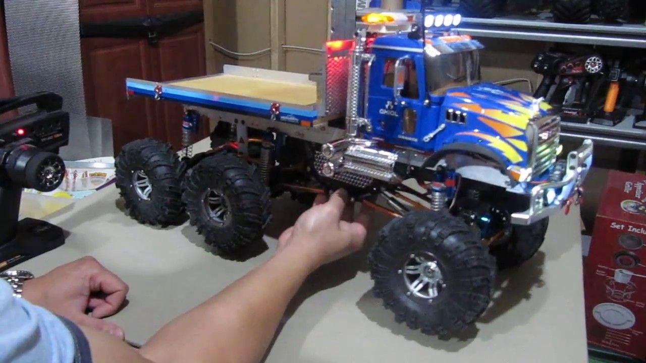 RC Axial SCX10 1/10 Scale Rock Crawler 6x6 Truck Build | Scratch ...