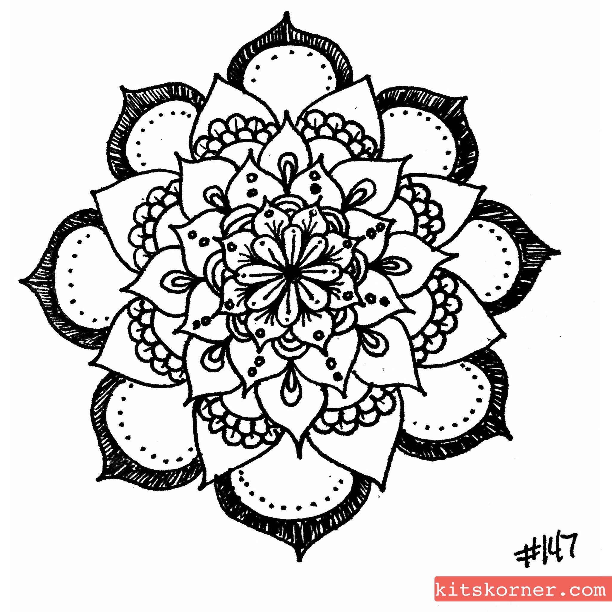 Sketchbook Open Composition Mandalas Sketch Book Mandala Mandala Art
