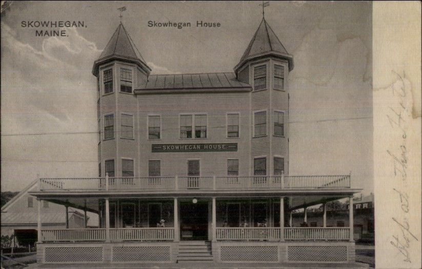 Skowhegan House Hotel Maine