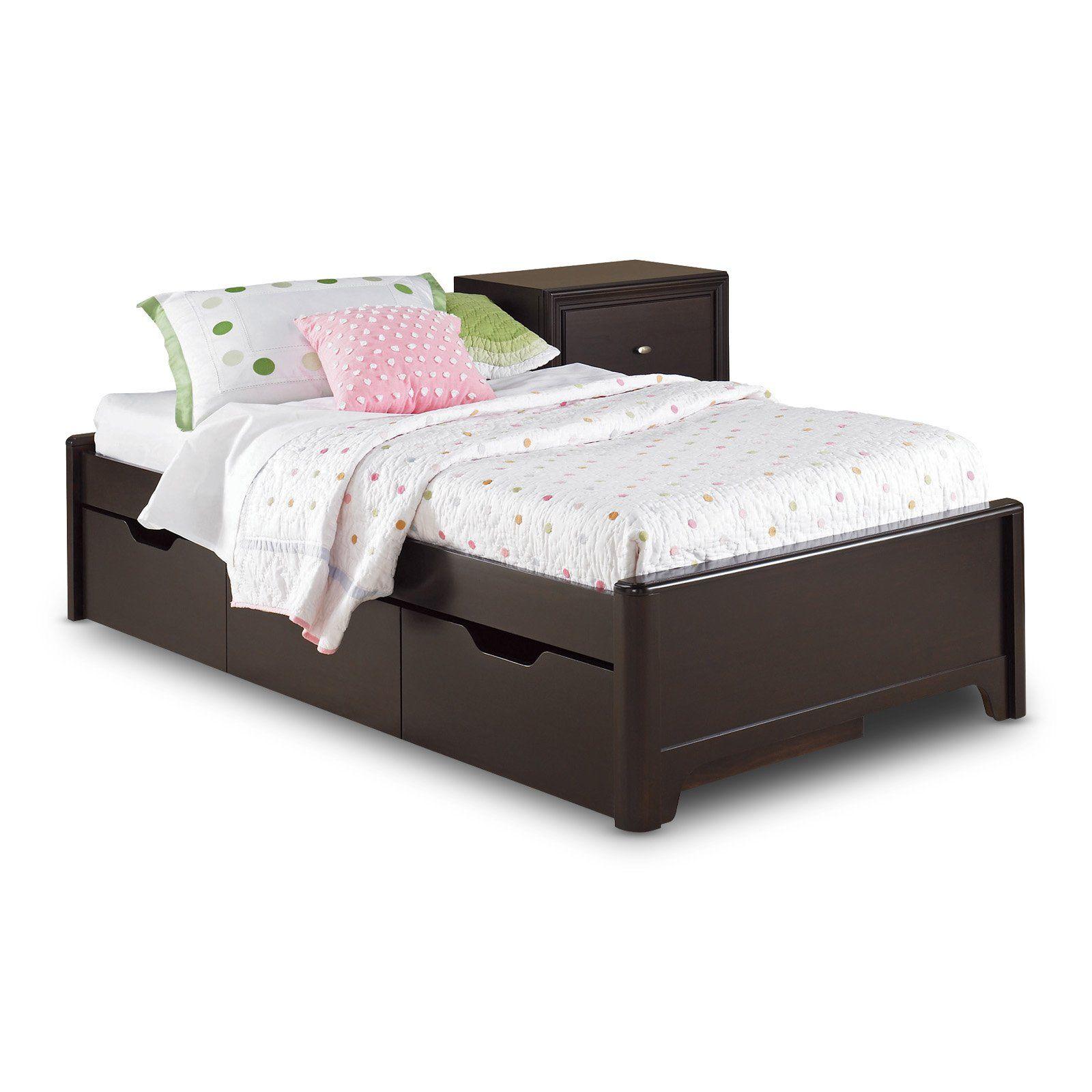 Best Midtown Platform Bed With Storage Drawer Full Shop At 640 x 480