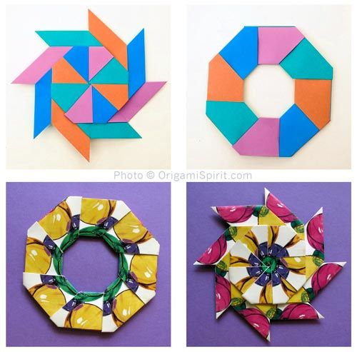 How To Make A Modular Origami Magic Star (With Images) Geometric