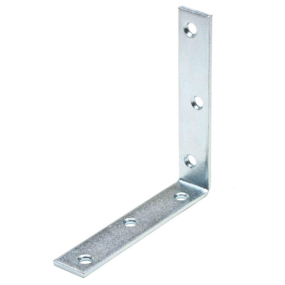 Crown Bolt 8 in  Zinc-Plated Corner Brace | kitchen remodel