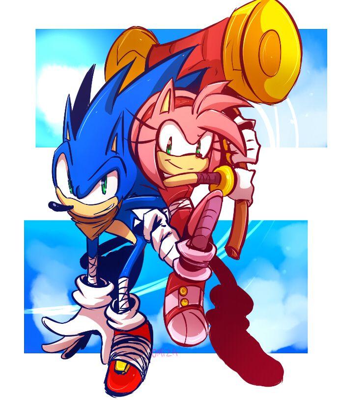 Sonic Boom Sonic And Amy By Zubwayori On Deviantart Sonic The Hedgehog Sonic Dibujos
