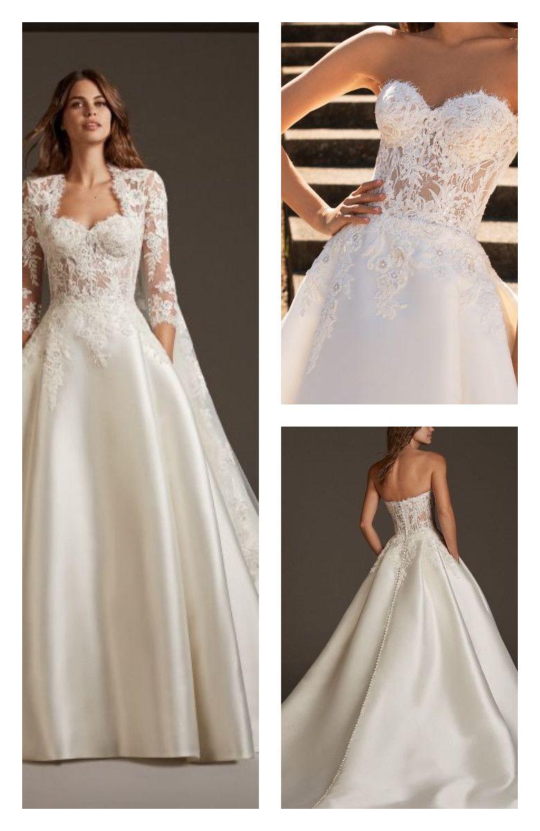 Phoenicia By Pronovias Bridal Dresses Pronovias Bridal Bridal Dresses Petite Wedding Dress