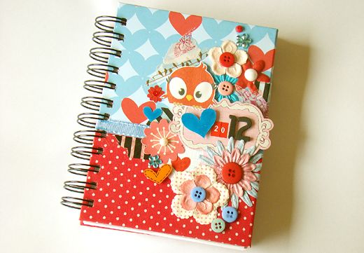 Awesome Decorated Notebook Decorate Notebook Altered