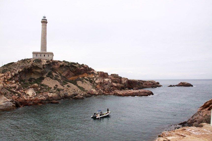 Lighthouse faro cabo de palos spain vanlife explore